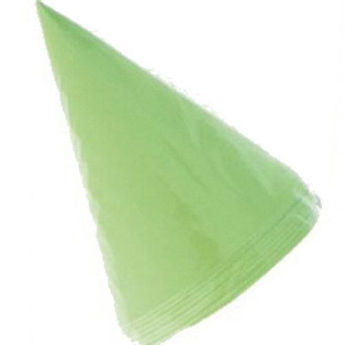 8 Party Hats - Lime Green