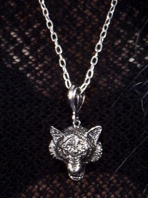 Wolf Pendant Necklace