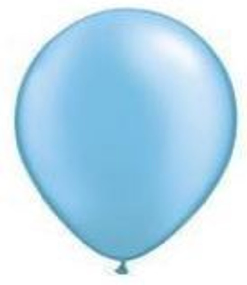 Pearl Azure 12cm Balloons - Pack of 100