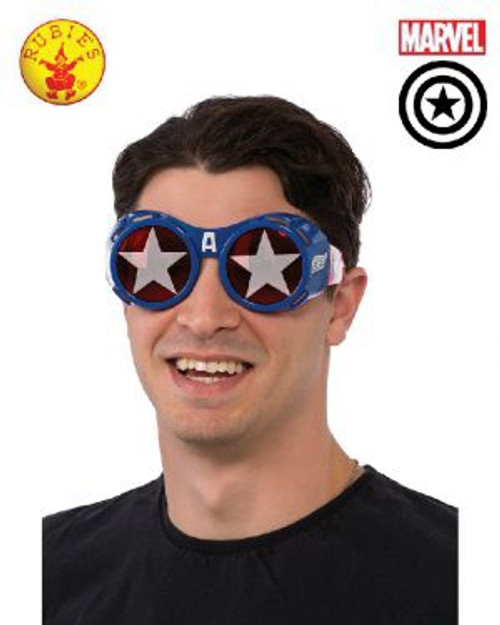 Captain America Goggles, Adult