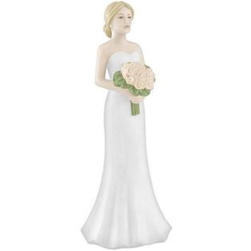 Cake Topper Blonde Hair Bride