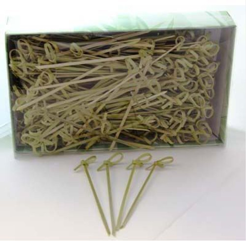 Bamboo Curly Pick 10cm