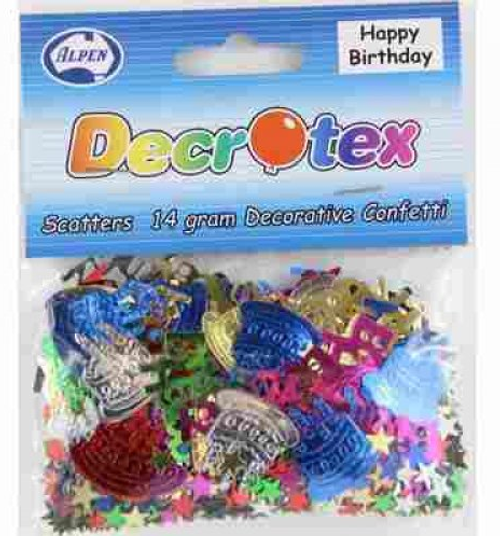 Scatters Happy Birthday Mixed - 14g