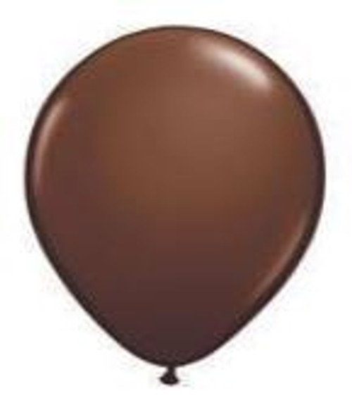 Chocolate Brown 28cm Balloons - Pack of 100