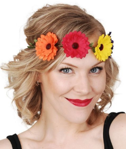 Flower Headband Multicoloured