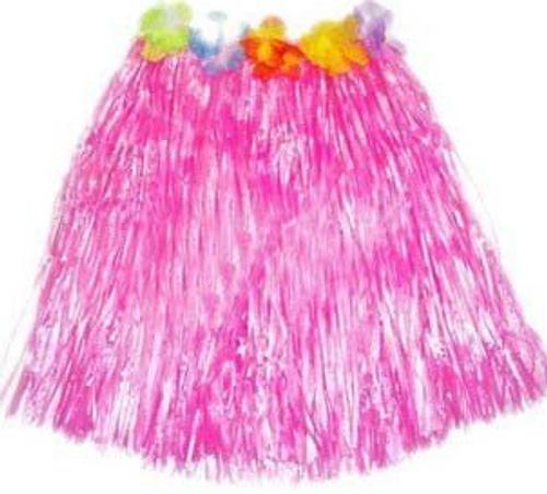 Hula Skirt Short - Pink