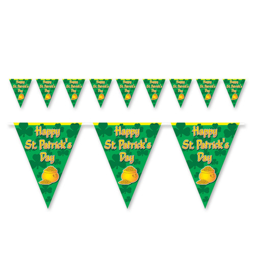 Happy St Patrick's Day Pennant Banner