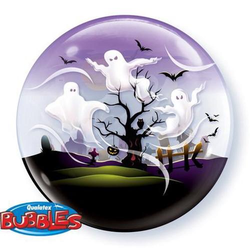 Spooky Ghosts Bubble Balloon