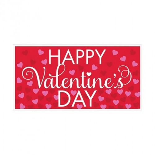 Large Valentine's Banner