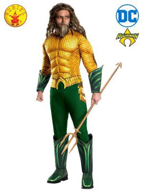 Aquaman Deluxe Costume, Adult - XL