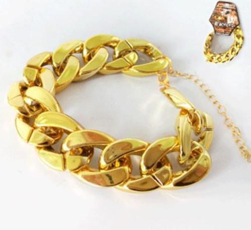 Big Links Bracelet - Gold