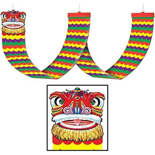 Asian Dragon Ceiling Decoration