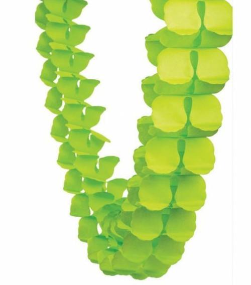 Honeycomb Garland Lime Green
