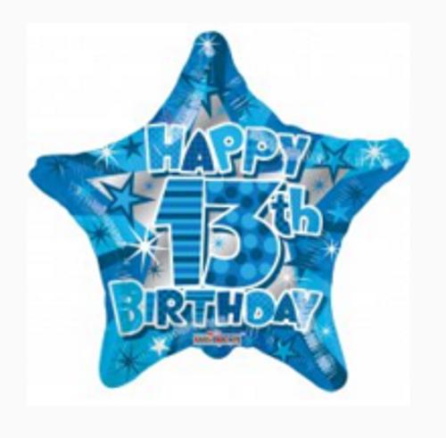 Happy 13th Birthday Boy Star