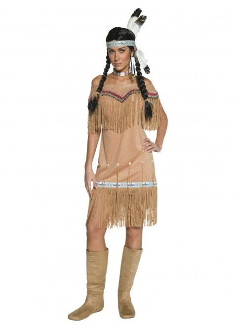 Authentic Western Indian Lady Costume - XL
