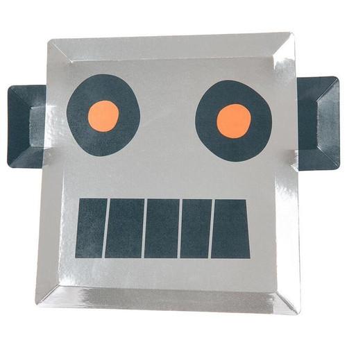 Robot Paper Plates