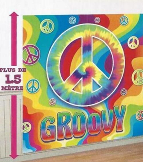 60s Groovy Hippy Wall Decorating Kit