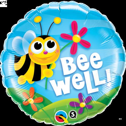 Bee Well! Flowers Foil Balloon