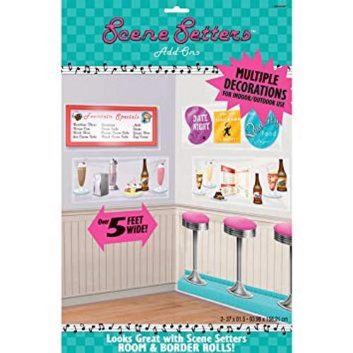 50's Milk Bar Counter Items