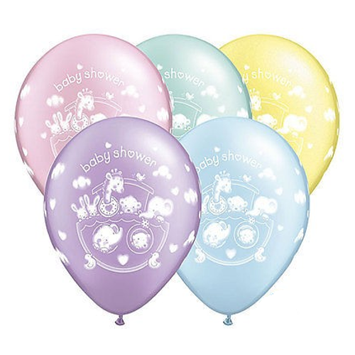 Ark Baby Shower Latex Balloons