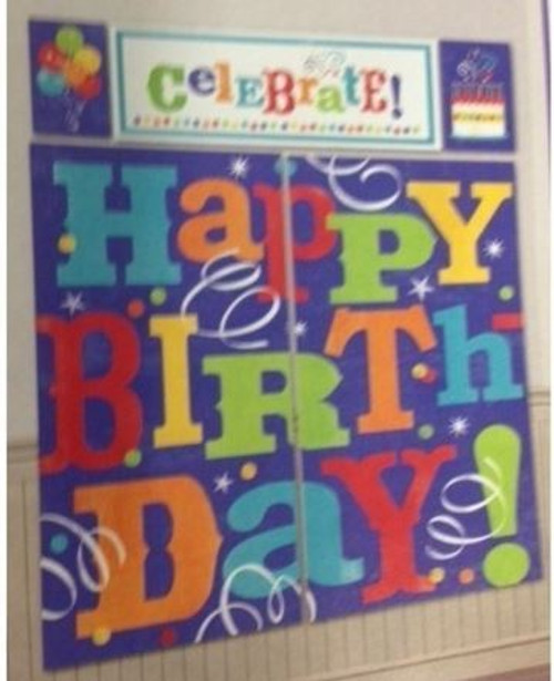 Birthday Fever Scene Setter Decorating Kit