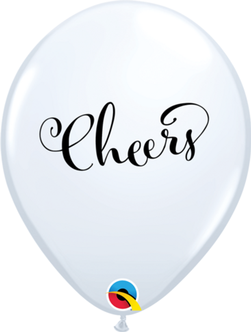 Simply Cheers White Latex Balloons
