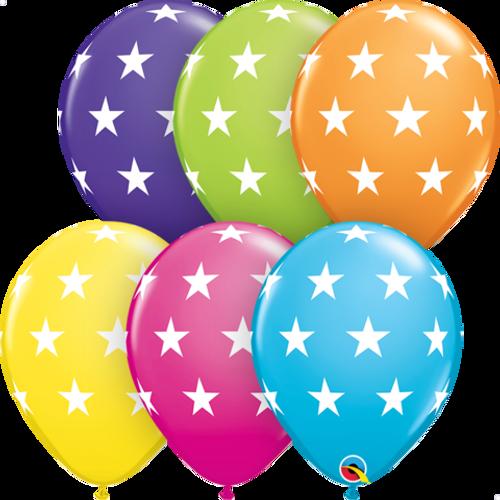 Big Stars Latex Balloons