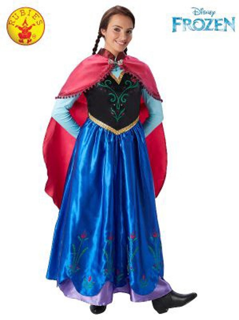 Anna Deluxe Costume, Adult - M