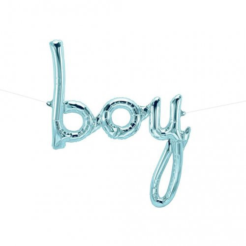 """boy"" Script Balloon"