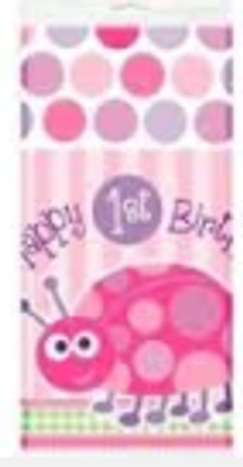 Tablecover - 1st Birthday Ladybug