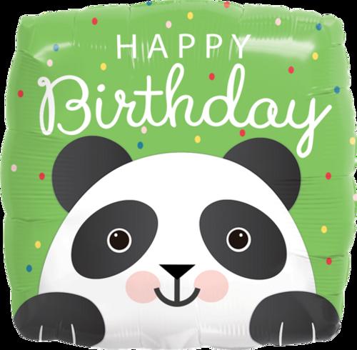 Birthday Panda Foil Balloon