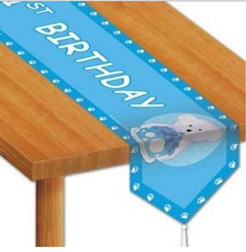 1st Birthday Boy Table Runner