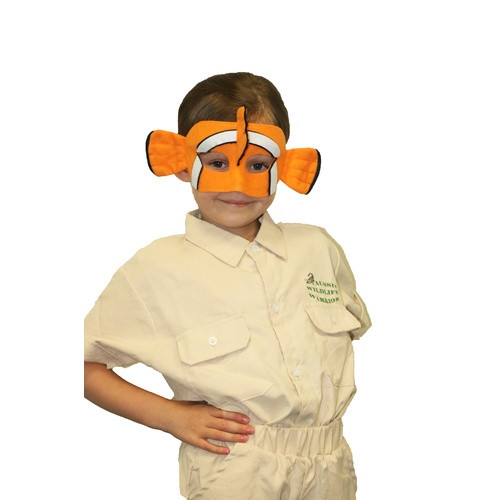 Deluxe Animal Mask - Clown Fish