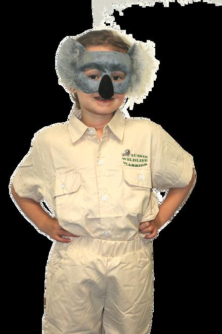 Deluxe Animal Mask - Koala