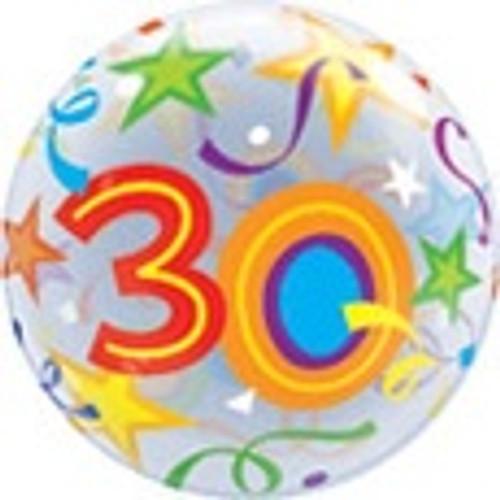 Bubble Balloon - 30th Birthday