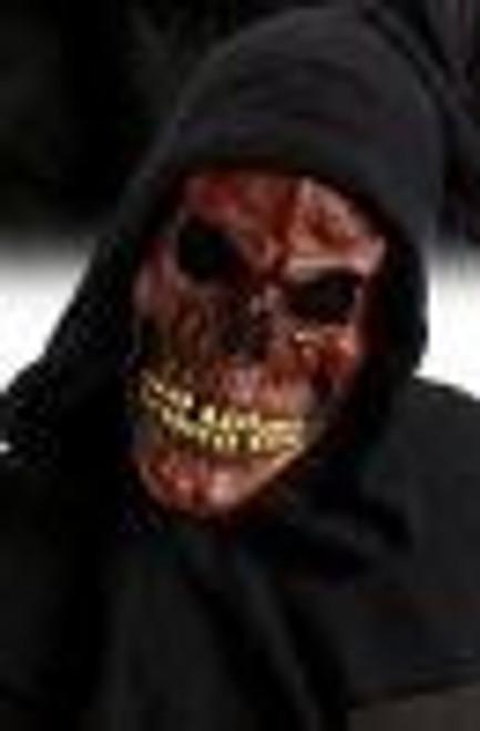 Shrouded Skull Mask Red
