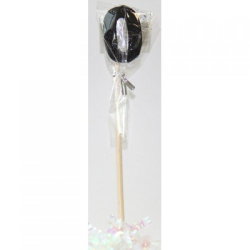 Black Glitter Long Stick Candle #0