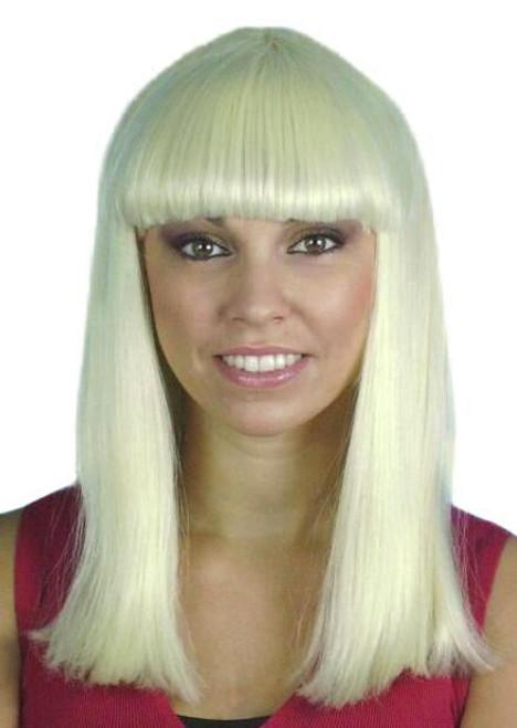 Cleo Platinum Blonde Wig