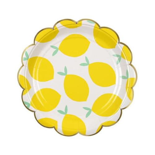 Lemon Paper Plates