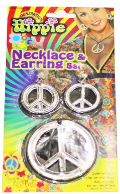Hippie Earring and Necklace Set