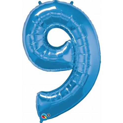 Number 9 Megaloon - Blue