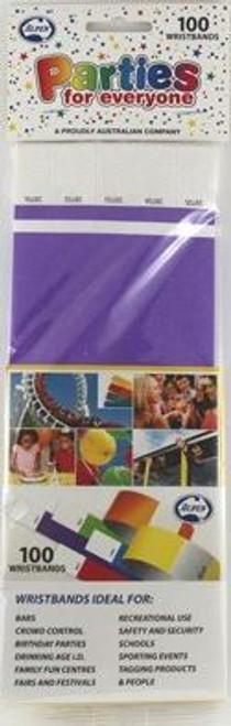 Wristbands - Purple