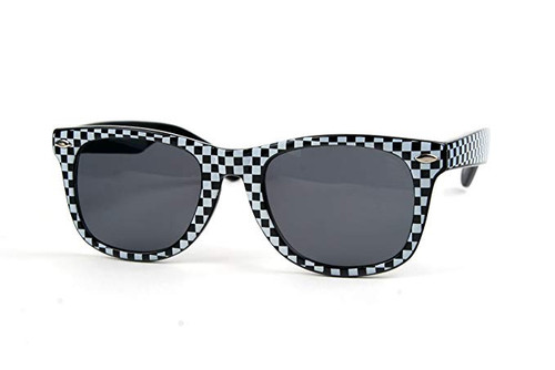 1980's Ska Checkered Glasses