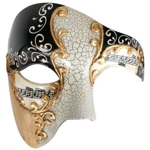 Eyemask Maestro Black and Gold