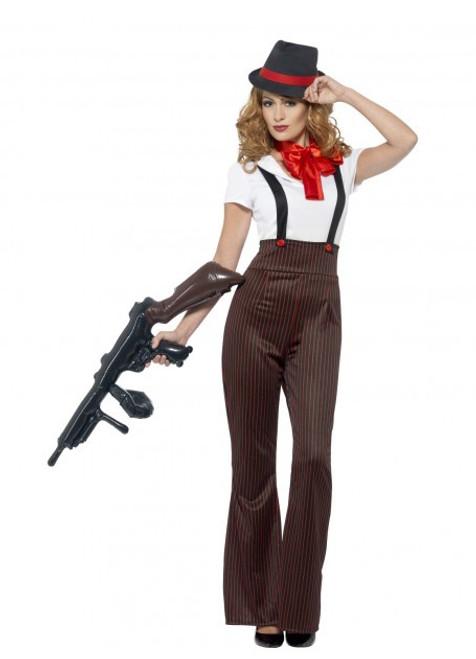 Glam Gangster Costume - L