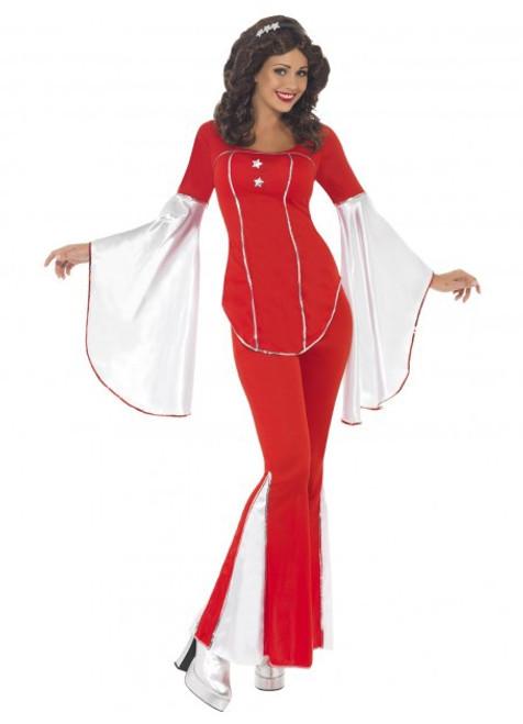 Red Super Trooper Costume - M