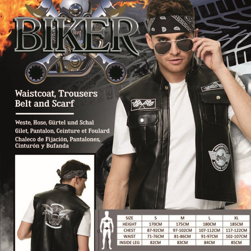 Bad Biker Costume - XL