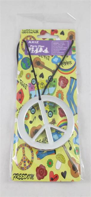 Asst Peace Sign Necklace