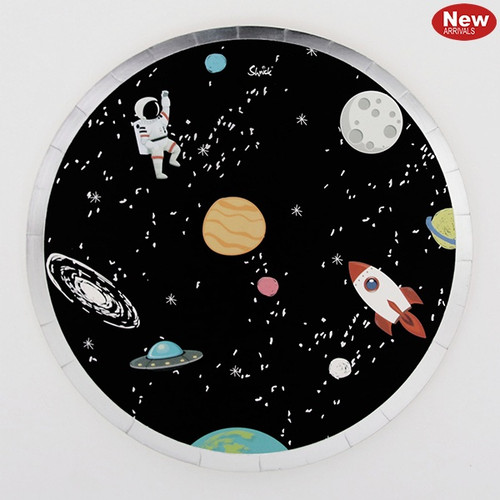 Space Paper Lunch Plates