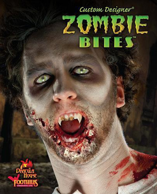 Zombie Bites Fangs Teeth